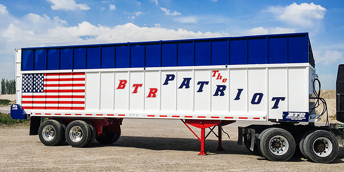 Patriot Silage Trailer